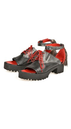 pantofi CHARLIS metal
